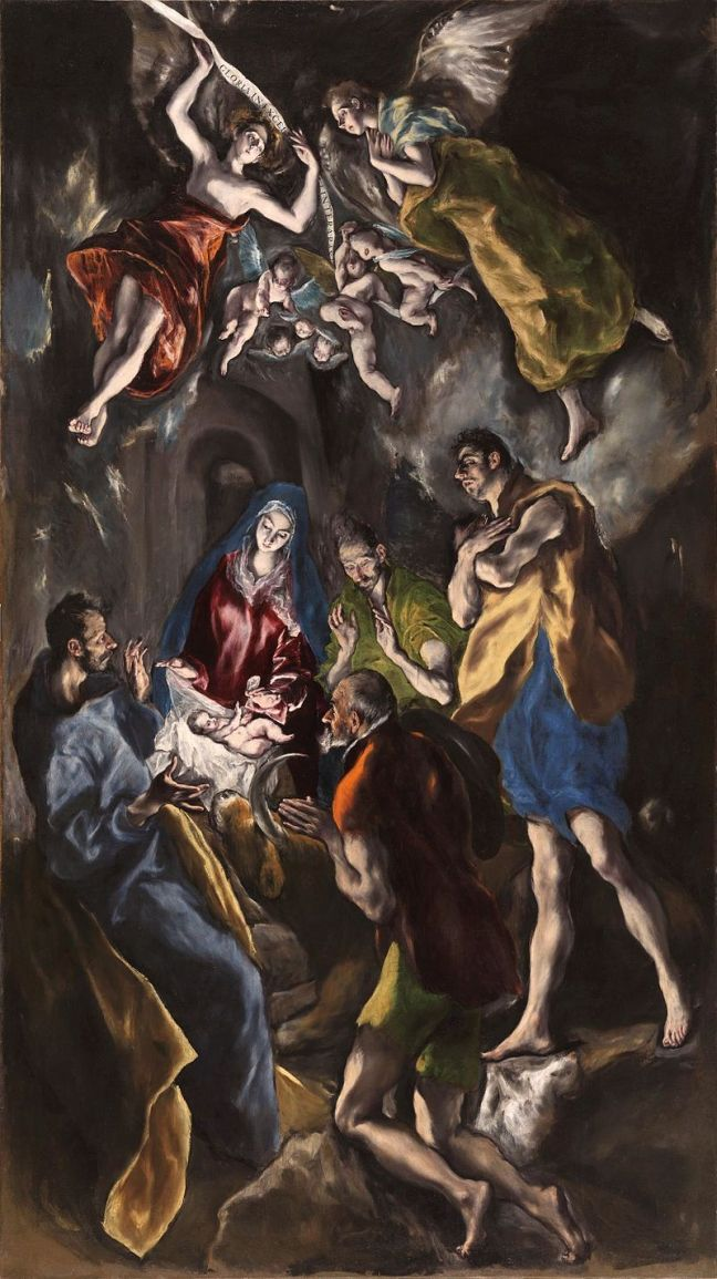 El Greco, The Adoration of the Shepherds