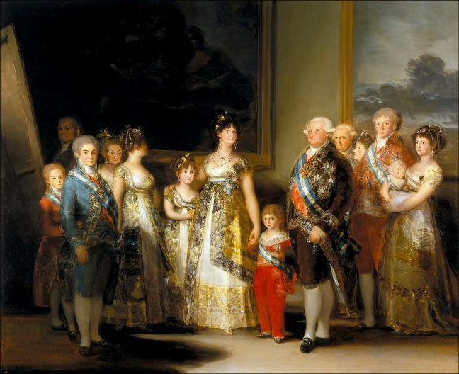 Goya, Charles IV of Spain and His Family